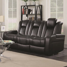 Load image into Gallery viewer, Delangelo Casual Power Reclining Sofa with Cup Holders, Storage Console and USB Port