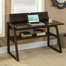 Load image into Gallery viewer, Transitional Writing Desk with Outlet