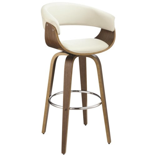 Dining Chairs and Bar Stools Contemporary Upholstered Bar Stool