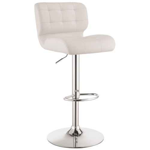 Dining Chairs and Bar Stools Upholstered Adjustable Bar Stool