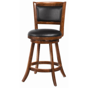 "Dining Chairs and Bar Stools 24"" Swivel Bar Stool with Upholstered Seat-COA"