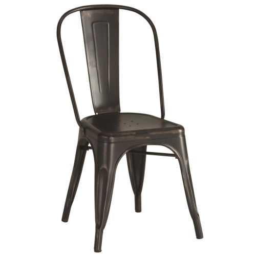 Dining Chairs and Bar Stools Industrial Metal Chair