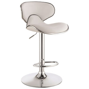 Dining Chairs and Bar Stools Adjustable Height Contemporary Bar Stool with Swivel Seat