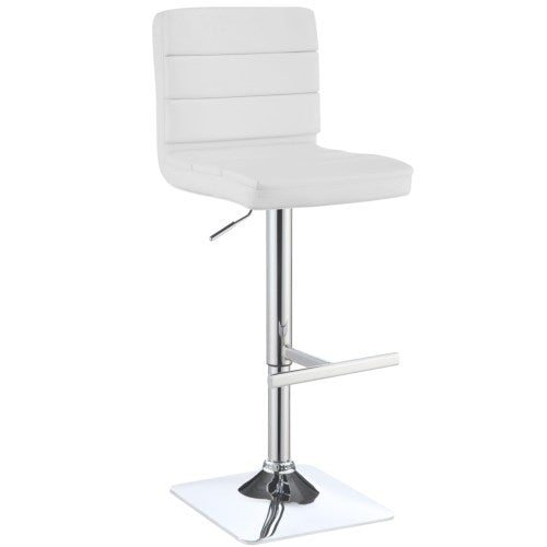 Dining Chairs and Bar Stools Adjustable Upholstered Bar Stool
