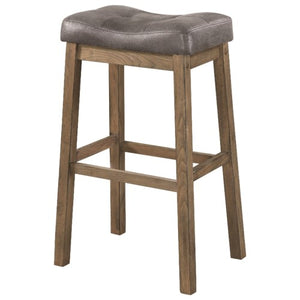 Dining Chairs and Bar Stools Rustic Backless Bar Stool
