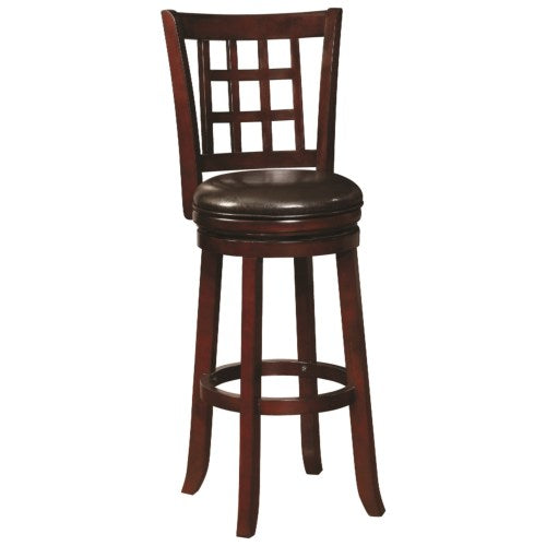 Dining Chairs and Bar Stools Swivel Barstool with Upholstered Seat