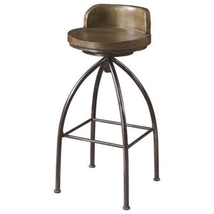 Dining Chairs and Bar Stools Swivel Counter Stool with Metal Base