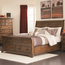 Load image into Gallery viewer, Elk Grove Queen Sleigh Bed with 2 Drawers