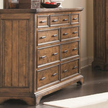 Load image into Gallery viewer, Elk Grove Dresser with 9 Drawers and Jewelry Tray