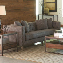 Load image into Gallery viewer, Ellery Sofa with Traditional Industrial Style