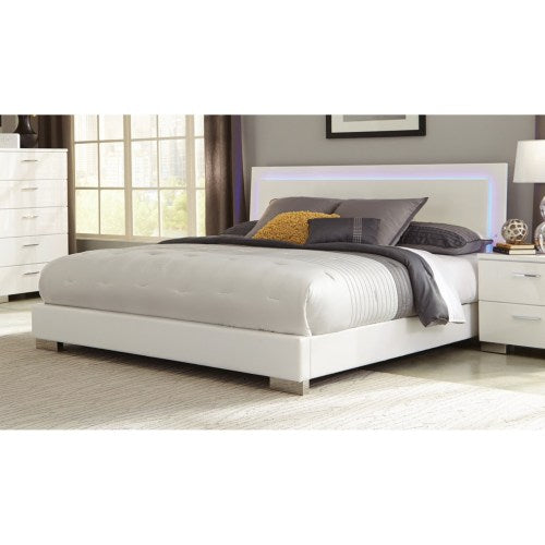 Felicity Queen Low Profile Bed with LED Backlight 203500Q