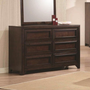 Greenough Dresser with Six Full Extension Glide Drawers