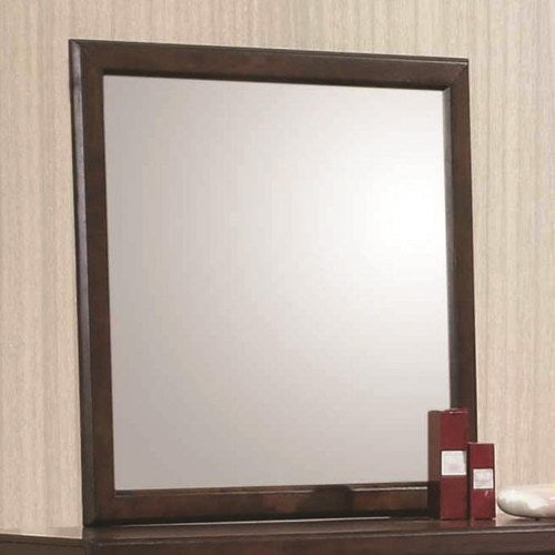Greenough Mirror with Wood Frame