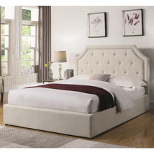 Load image into Gallery viewer, Hermosa Queen Upholstered Bed with Hydraulic Lift Storage