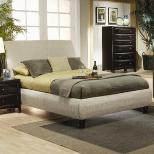 Phoenix King Contemporary Upholstered Bed