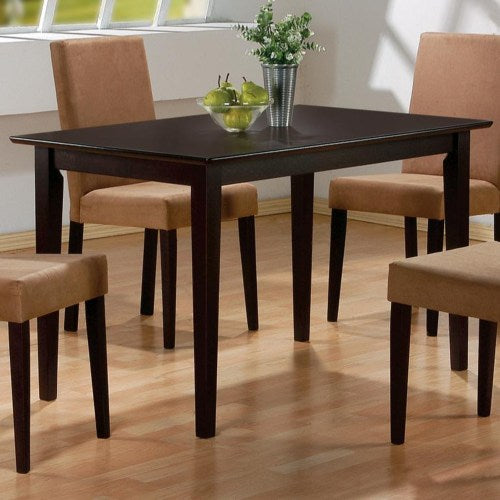 Mix & Match Rectangular Casual Dining Leg Table