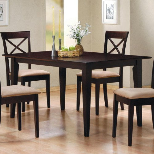 Mix & Match Rectangle Leg Dining Table