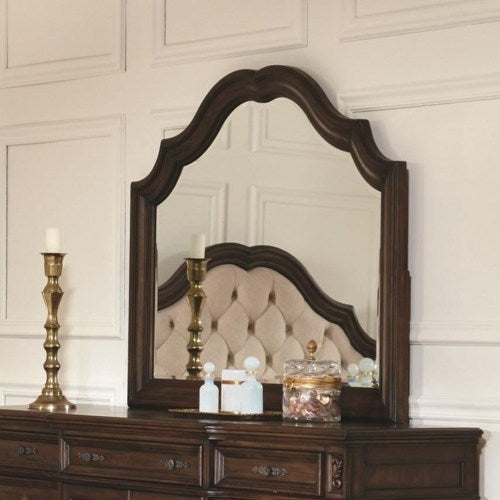 Ilana  Mirror with Wood Frame