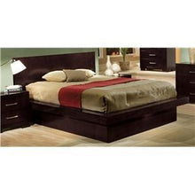 Load image into Gallery viewer, Jessica California King Pier Bed with Rail Seating and Lights