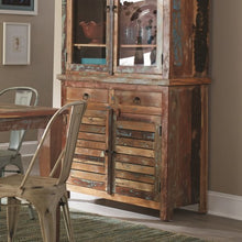 Load image into Gallery viewer, Keller Rustic Buffet with Concealed Storage