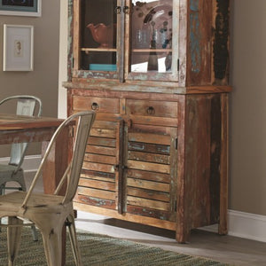 Keller Rustic Buffet with Concealed Storage