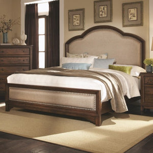 Laughton Casual King Upholstered Bed