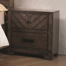 Load image into Gallery viewer, Lawndale 2 Drawer Rustic Nightstand