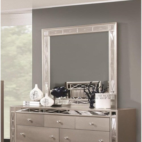 Leighton Beveled Dresser Mirror