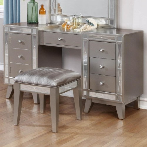 Leighton Vanity Desk & Stool