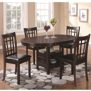 Lavon 5 Piece Dining Set with Storage Table
