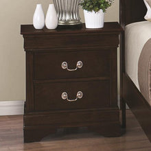 Load image into Gallery viewer, Louis Philippe 202 Night Stand with 2 Drawers