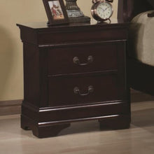 Load image into Gallery viewer, Louis Philippe 2 Drawer Night Stand