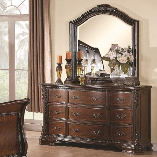 Maddison Drawer Dresser with Mirror