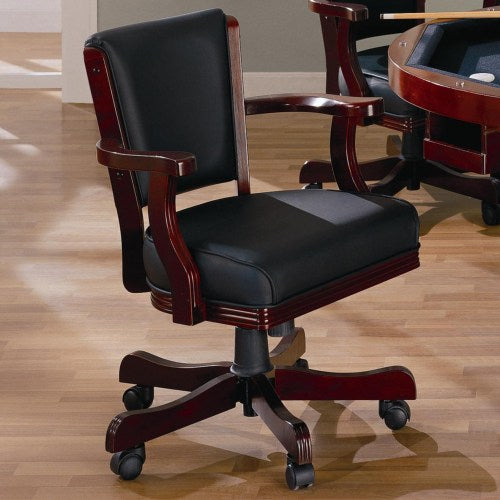 Mitchell Upholstered Arm Game Chair