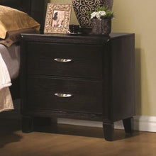Load image into Gallery viewer, Nacey Two Drawer Nightstand with Metal Hardware