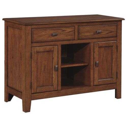 Nelms Transitional Two Door Dining Server