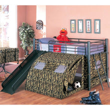 Load image into Gallery viewer, Oates Lofted Bed with Slide and Tent