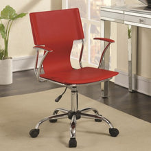 Load image into Gallery viewer, Office Chairs Contemporary Office Chair with Upholstered Seat