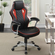 Load image into Gallery viewer, Office Chairs Computer Chair with Red Accents