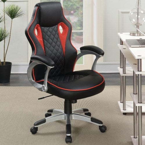 Office Chairs Computer Chair with Red Accents