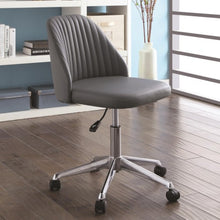 Load image into Gallery viewer, Office Chairs Modern Office Chair with Channeled Backrest