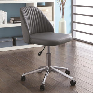 Office Chairs Modern Office Chair with Channeled Backrest