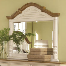 Load image into Gallery viewer, Oleta Mirror with Arched Frame and Shutter Detail