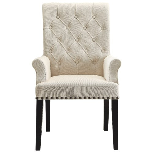 Parkins Upholstered Dining Arm Chair