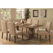 Load image into Gallery viewer, Parkins 7 Piece Dining Table and Parson Chair Set