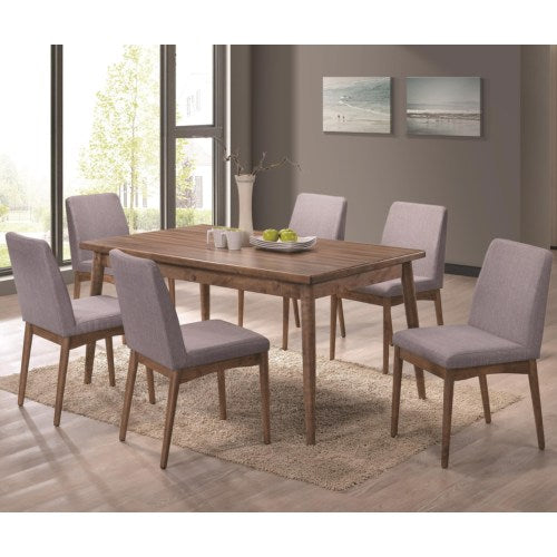 Pasquil Seven Piece Table and Chair Set