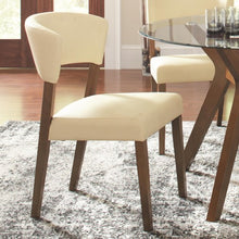 Load image into Gallery viewer, Paxton 12218 Cream Upholstered Dining Chair