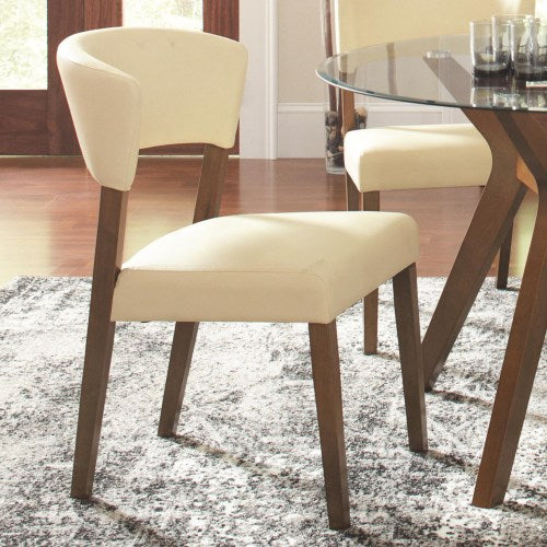 Paxton 12218 Cream Upholstered Dining Chair