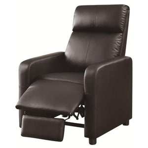 Recliners Theater Seating Push-Back Recliner with Contemporary Style