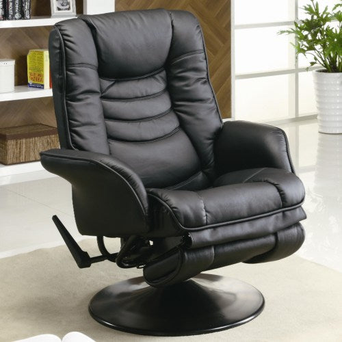Recliners Casual Leatherette Swivel Recliner